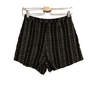 Urban Outfitters Lush Striped Short